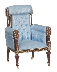 1:12 Scale JBM Miniature 18th. C. Louis XVI French Armchair