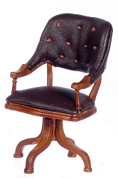 1:12 Scale Platinum Miniature 1865 Ulysses S. Grant Walnut Chair