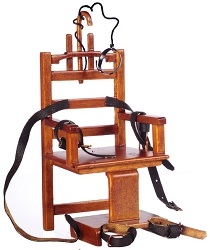 1:12 Scale Platinum Miniature Old Sparky Electric Chair