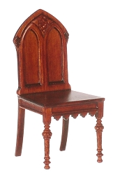 1:12 Scale Platinum Miniature 1860 Gothic Revival Chair