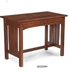 1:12 Scale JBM Miniature Mission Walnut Desk