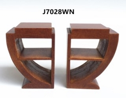 1:12 Scale JBM Miniature Art Deco Bedside Table (Pair)