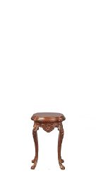 1:12 Scale JBM Miniature Queen Anne Walnut Urn Table