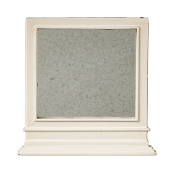 1:12 Scale JBM Miniature Cottage White Mirror