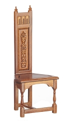 1:12 Scale JBM Miniature Tall Back Gothic Chair