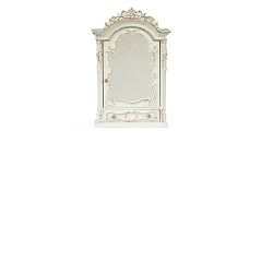 1:12 Scale JBM Miniature Hand Painted Baroque Style Mirror