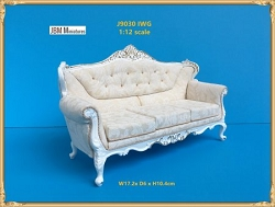 1:12 Scale JBM Miniature 18th C. Louis XV Settee