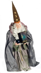 1:12 Scale Miniature Dollhouse Doll - Merlin