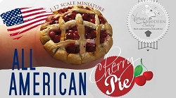 1:12 Scale VMB Miniature All American Cherry Pie