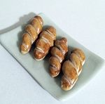 1:12 Scale Miniature VMB Sugar Sweet Cinnamon Twists