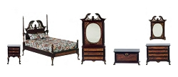 1:12 Scale Platinum Miniature Harding Bedroom Collection