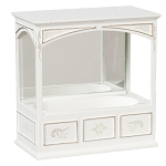1:12 Scale JBM Miniature Enclosed Mirrored Bath