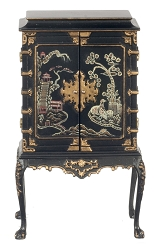 1:12 Scale JBM Miniature Chinese Chippendale Cabinet