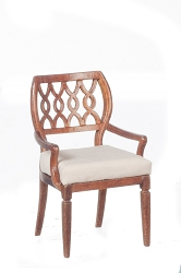 1:12 Scale JBM Miniature Sheraton Walnut Chair Collection