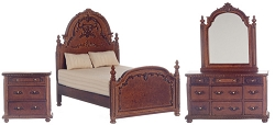 1:12 Scale Platinum Miniature York Bedroom Collection