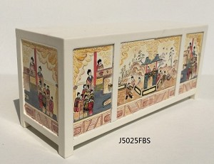 1:12 Scale JBM Miniature Limited Edition Hand Painted Chinoises Credenza