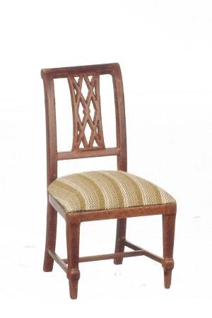 About A Chair 12 Side Chair.1 12 Scale Jbm Miniature Walnut Sheraton Side Chair